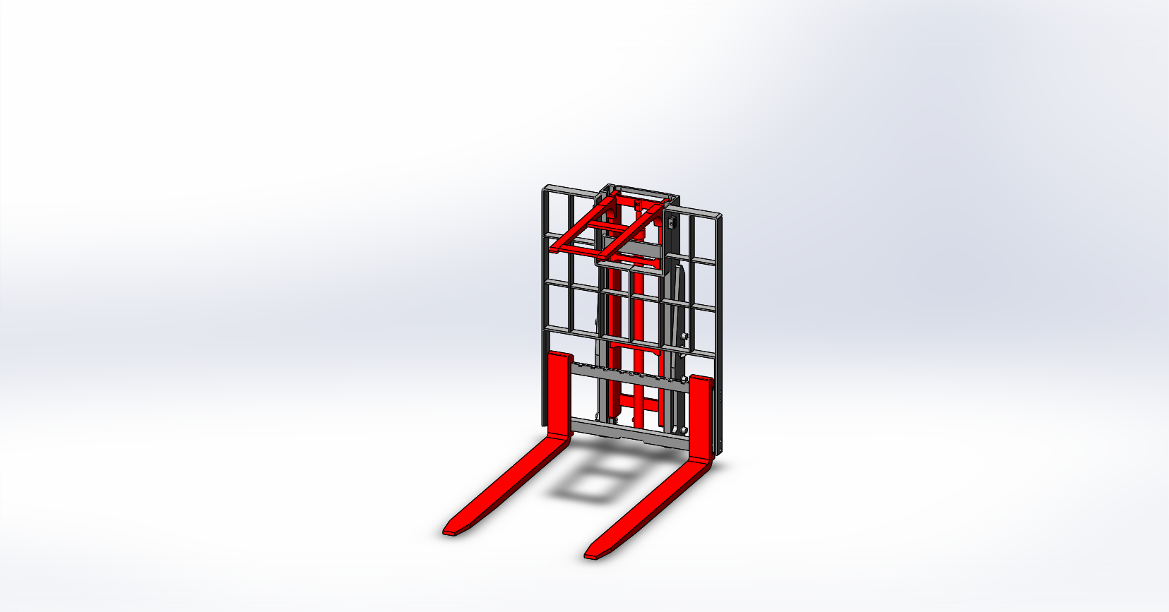 Axon Forklift: Wooden packing Stabilizers-1