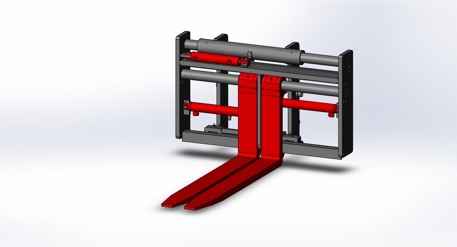 Axon Forklift: Heavy Duty Side shifter & Fork Positioners - Medium Duty