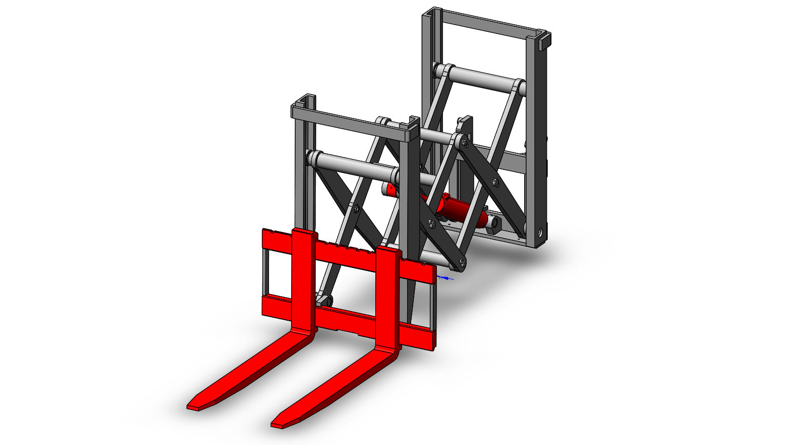 Axon Forklift: Roll Clamps--2