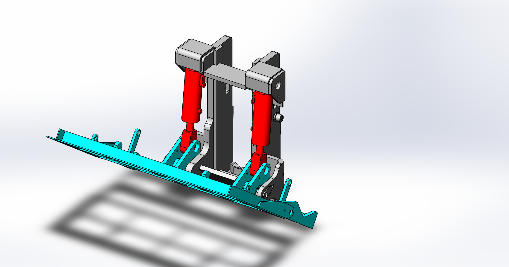 Axon Forklift: Tipping Carriage / Loading Bucket-10