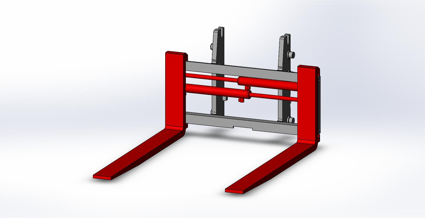 Axon Forklift: Fork Positioners E10-Light Duty-2