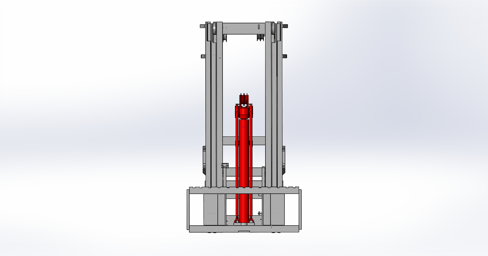 Axon Forklift: Three Stage Mast-4