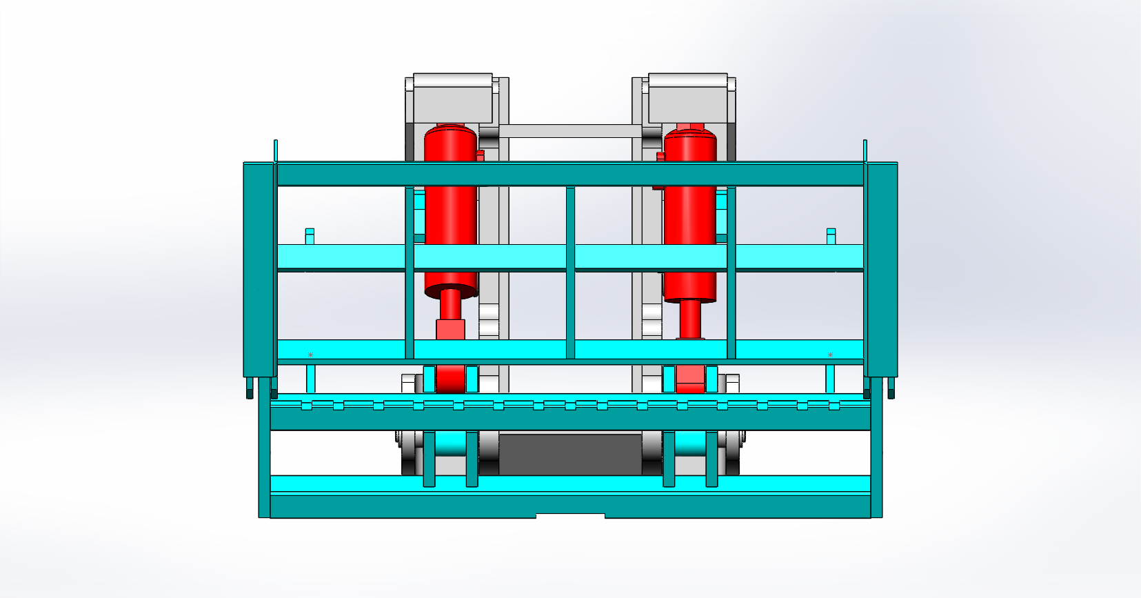 Axon Forklift: Tipping Carriage / Loading Bucket-12