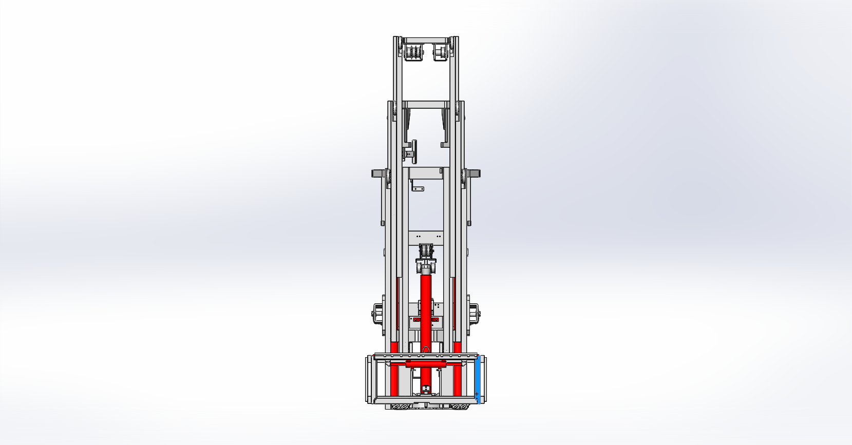 Axon Forklift: Four Stage Mast-5