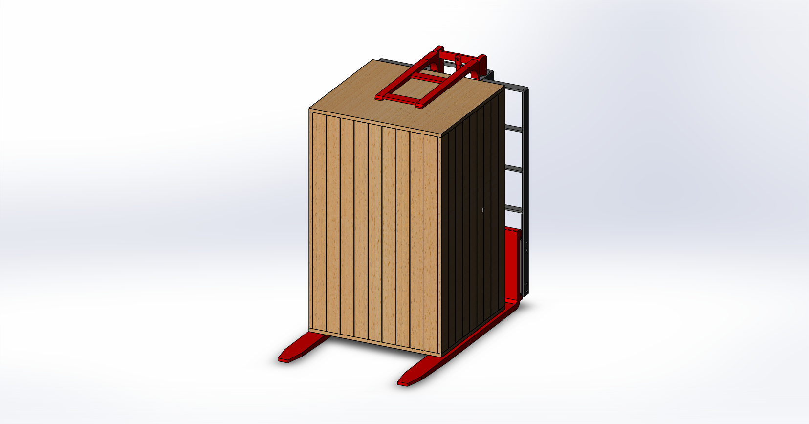 Axon Forklift: Wooden packing Stabilizers-5