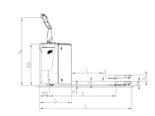 Axon Electric Pallet Truck PT 20