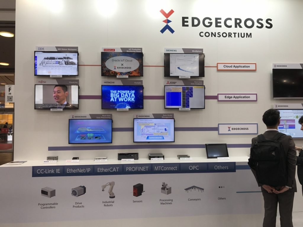 Focused on the Edgecross, Axon Forklift leads the future|HANNOVER MESSE 2018