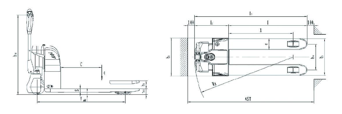 Axon Electric Pallet Truck EPT15